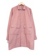 LANVIN en Bleu(ランバンオンブルー)の古着「ナイロンコート」|ピンク