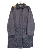 MACKINTOSH PHILOSOPHY(マッキントッシュフィロソフィー)の古着「キルティングコート」|ネイビー