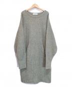 SAYAKA DAVIS(サヤカ デイヴィス)の古着「Knit Dress/ニットワンピース」|オリーブ