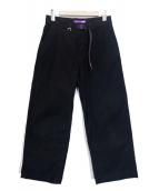 ()の古着「ストレッチモールスキンパンツ」|ブラック
