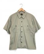 TENDERLOIN(テンダーロイン)の古着「半袖ワークシャツ」|グレー