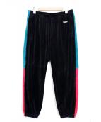 Supreme(シュプリーム)の古着「18SS Velour Pant/ベロアパンツ」 ブラック×グリーン