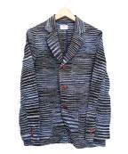 GAIJIN MADE()の古着「ニットジャケット」|グレー