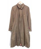 UNDERCOVER(アンダーカバー)の古着「比翼シャツコート」|オリーブ