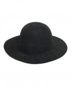 Etudes(エチュード)の古着「ロングブリムボーラーハット」|ブラック