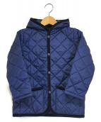 ()の古着「キルティングジャケット」 ネイビー