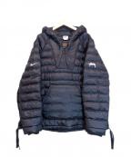 NIKE×STUSSY(ナイキ×ステューシー)の古着「インシュレーテッド プルオーバー ジャケット」|ブラック