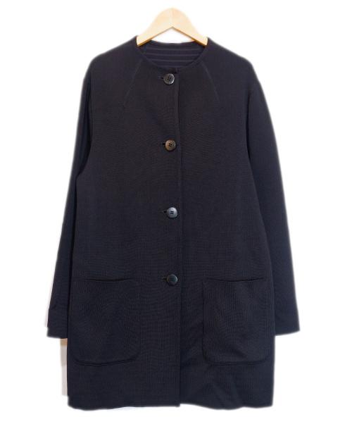 LEQUIPE(レキップ)LEQUIPE (レキップ) リバーニットカーディガン ブラック サイズ:38 20AWの古着・服飾アイテム