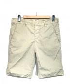 PRADA SPORTS(プラダスポーツ)の古着「コットンナイロンショートパンツ」|グレー