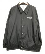 REEBOK CLASSIC(リーボック クラシック)の古着「コーチジャケット」 ブラック