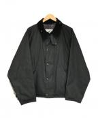 Barbour()の古着「TRANSPORT WAX」|ブラック