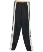 adidas(アディダス)の古着「SNAP PANTS BLACK」|ブラック