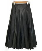 JUNYA WATANABE CdG(ジュンヤワタナベコムデギャルソン)の古着「プリーツスカート」 ブラック