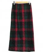 PENDLETON(ペンドルトン)の古着「ビンテージラップスカート」|レッド