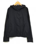 KUMIKYOKU(クミキョク)の古着「フーディーブルゾン ジャケット」|ネイビー