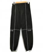 OY(オーワイ)の古着「リフレクターイージーパンツ」|ブラック