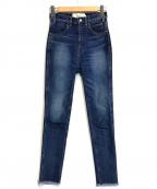 JANE SMITH()の古着「スキニーデニムパンツ」|インディゴ