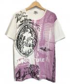 Vivienne Westwood man()の古着「NEW PUNKATURE T-SHIRT」 ホワイト