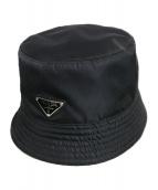 PRADA(プラダ)の古着「Re Nylon バケットハット」|ブラック