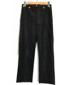 Vivienne Westwood man(ヴィヴィアン ウェストウッド マン)の古着「リネン混ハイウエストパンツ」 ブラック