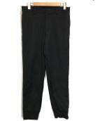 Calvin Klein platinum(カルバンクラインプラティナム)の古着「フルジップテーパードパンツ」|ブラック
