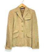 RALPH LAUREN(ラルフローレン)の古着「ビンテージテーラードジャケット」 ベージュ