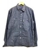 ()の古着「デニムシャツ」|インディゴ