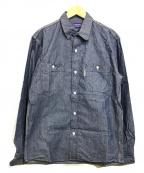 BLUE BLUE()の古着「デニムシャツ」|インディゴ