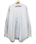 WILLY CHAVARRIA(ウィリーチャバリア)の古着「BIG OXFORD SHIRT」 ネイビー