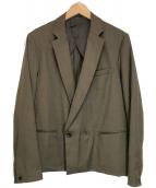 ()の古着「ショートダブルジャケット」|ブラウン
