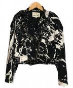 Vivienne Westwood ANGLOMANIA(ヴィヴィアンウエストウッド アングロマニア)の古着「ダブルジャケット」|ブラック