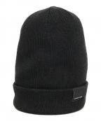 CANADA GOOSE(カナダグース)の古着「ニット帽」|ブラック