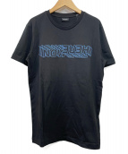 DIESEL(ディーゼル)の古着「刺繍Tシャツ」|ブラック