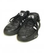 Y-3(ワイスリー)の古着「タングツフットボール」|ブラック