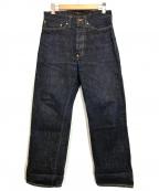 ATLAST & CO(アットラスト)の古着「107 デニムパンツ」 インディゴ