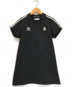 master mind × adidas(マスターマインド・ジャパン×アディダス)の古着「ゲームシャツ」|ブラック