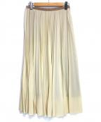 IENA LA BOUCLE(イエナ ラ ブークル)の古着「プリーツスカート」|ベージュ