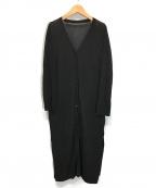 ROPE(ロペ)の古着「ロングカーディガン」|ブラック