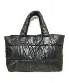 CHANEL(シャネル)の古着「コココクーン ライントートバッグ」|ブラック