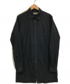 YohjiYamamoto pour homme()の古着「L/Sシャツ」|ブラック