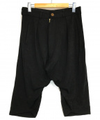 Vivienne Westwood man(ヴィヴィアン ウェストウッド マン)の古着「サルエルパンツ」|ブラック