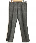 Calvin Klein(カルバンクライン)の古着「センタープレスパンツ」|グレー