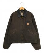 CarHartt(カーハート)の古着「ダック地ジャケット」|ブラウン