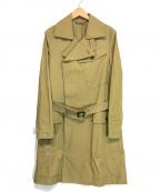 Vivienne Westwood man(ヴィヴィアン ウェストウッド マン)の古着「変形ダブルトレンチコート」|ベージュ