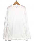 COMME des GARCONS SHIRT(コムデギャルソンシャツ)の古着「L/Sカットソー」|ホワイト