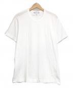 COMME des GARCONS SHIRT(コムデギャルソンシャツ)の古着「半袖カットソー」|ホワイト