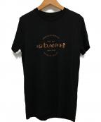 COACH(コーチ)の古着「ロゴプリントTシャツ」 ブラック