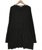 YohjiYamamoto pour homme(ヨウジヤマモトプールオム)の古着「ビックカーディガン」|ブラック