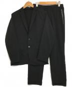 DESCENTE(デサント)の古着「イージーセットアップ」|ブラック