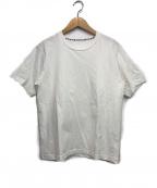 Denham(デンハム)の古着「JACQUARD TEE」 ホワイト